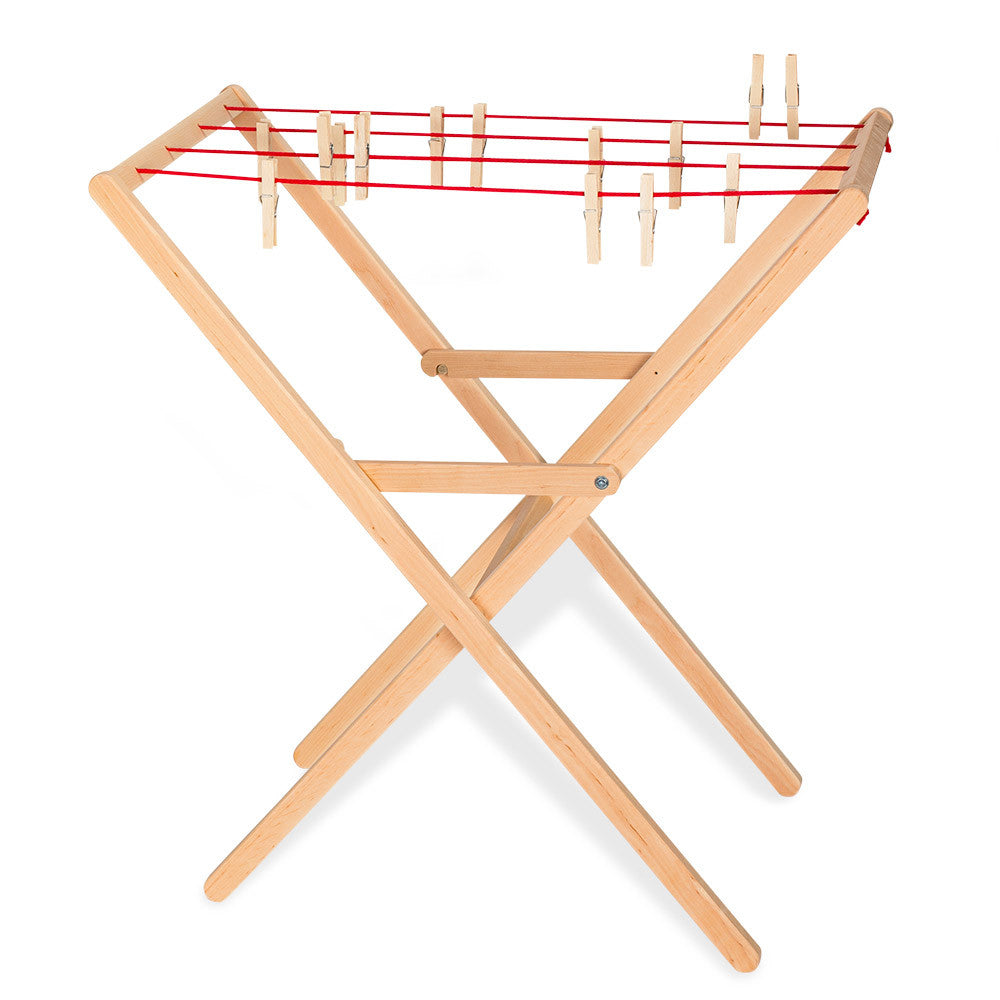 drying rack & pegs - nova natural toys & crafts