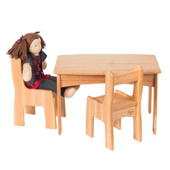 dolly's table and chairs