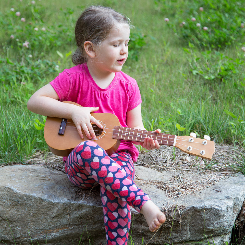 wooden ukulele - lifestyle - nova natural toys & crafts