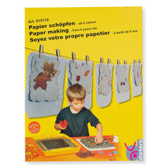 papermaking kit - box cover - nova natural toys & crafts