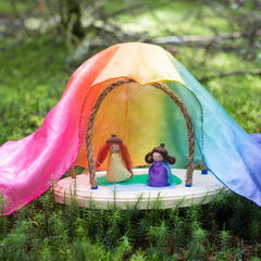 fairy playhouse kit- rainbow