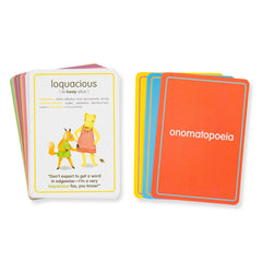 big word flashcards