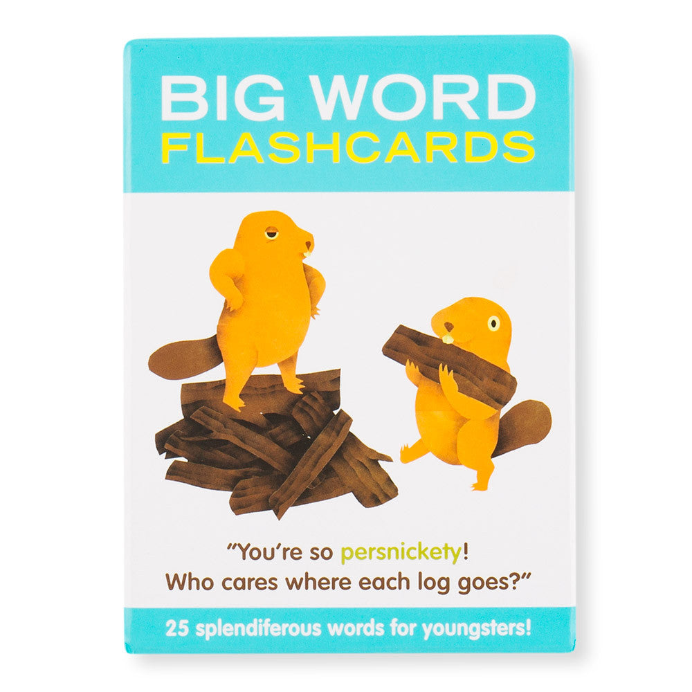 big word flashcards - Nova Natural Toys & Crafts