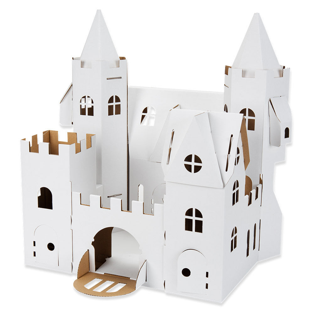 color and build your own palace - nova natural toys & crafts