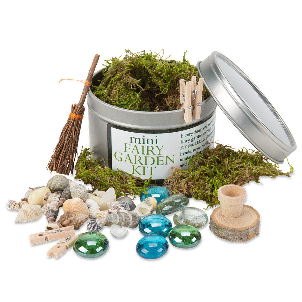 mini fairy garden kit in fairies gnomes Nova Natural Toys Crafts
