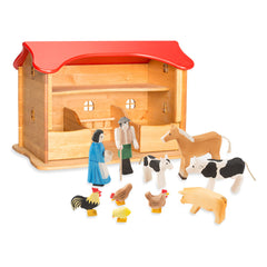 simon's stable & figure set
