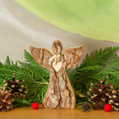 wooden angel