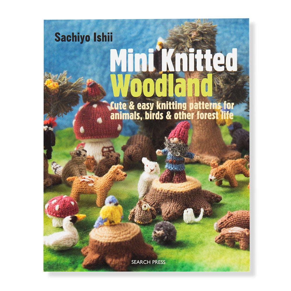 mini knitted woodland - front - nova natural toys & crafts