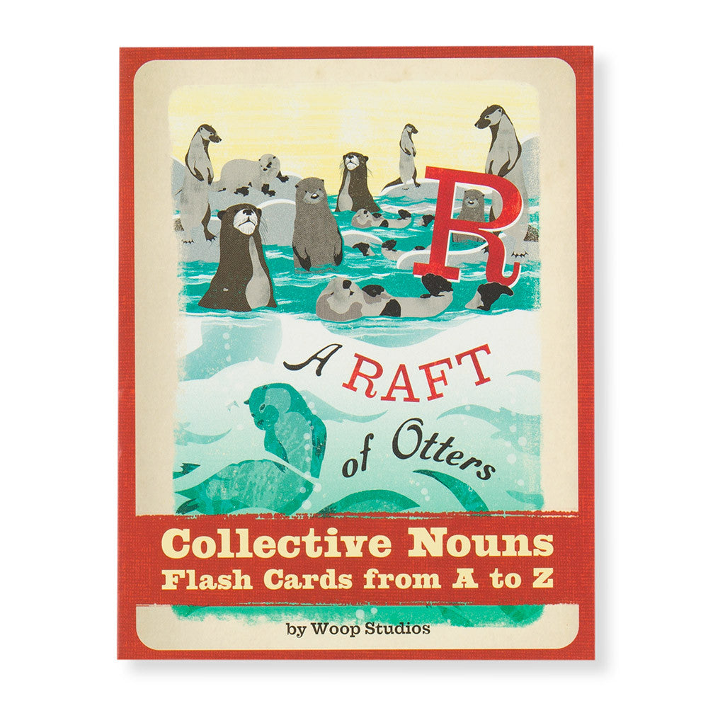 a raft of otters - box - nova natural toys & crafts