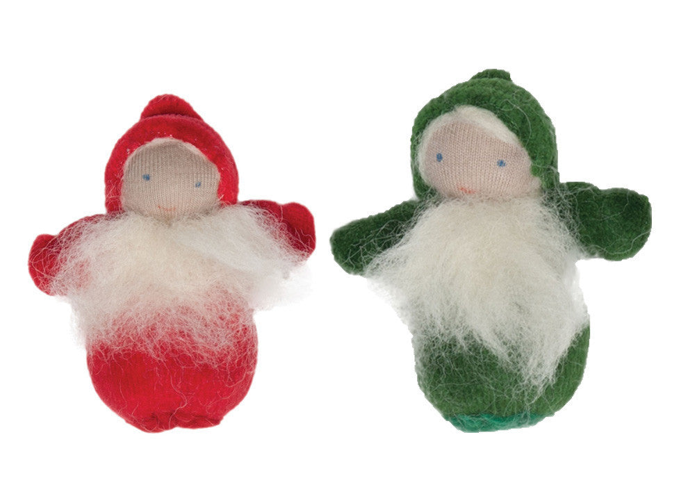 christmas gnomes, set of 2 - Nova Natural Toys & Crafts