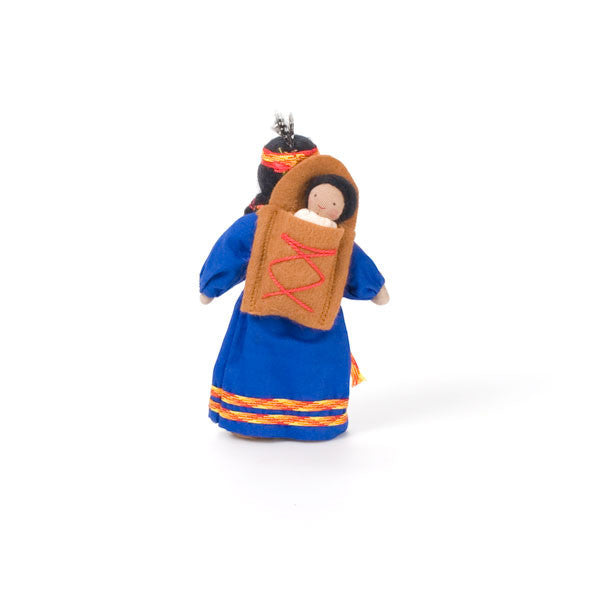 native american mother & baby - Nova Natural Toys & Crafts - 2