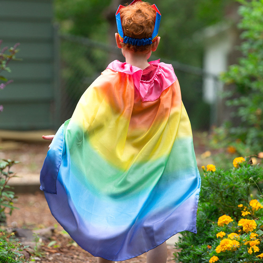rainbow cape - lifestyle - Nova Natural Toys & Crafts