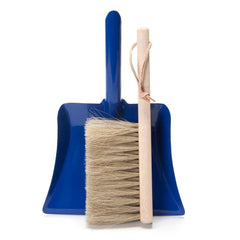 blue dustpan + brush set - Nova Natural Toys & Crafts - 1