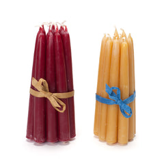 set of 12 beeswax candles - Nova Natural Toys & Crafts - 1
