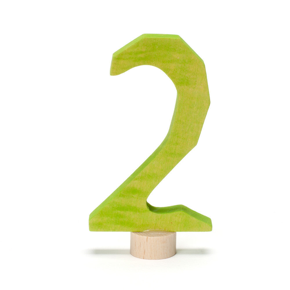 birthday number ornament - Nova Natural Toys & Crafts - 4