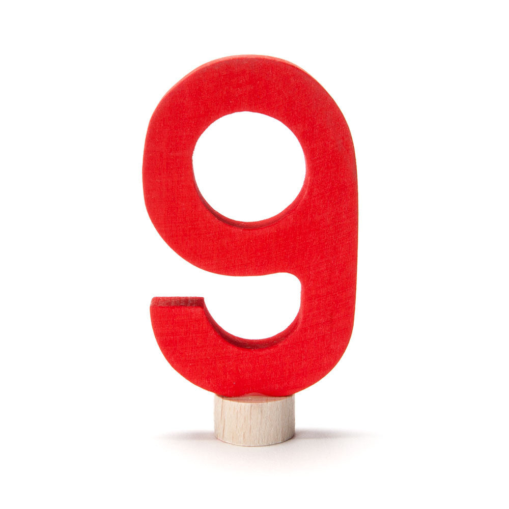 birthday number ornament - Nova Natural Toys & Crafts - 10