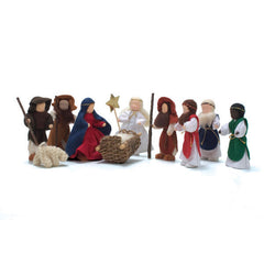 soft doll nativity set