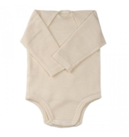 wool long-sleeve romper - Nova Natural Toys & Crafts - 1