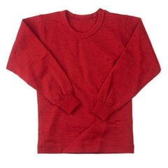 children's wool long-sleeve shirt