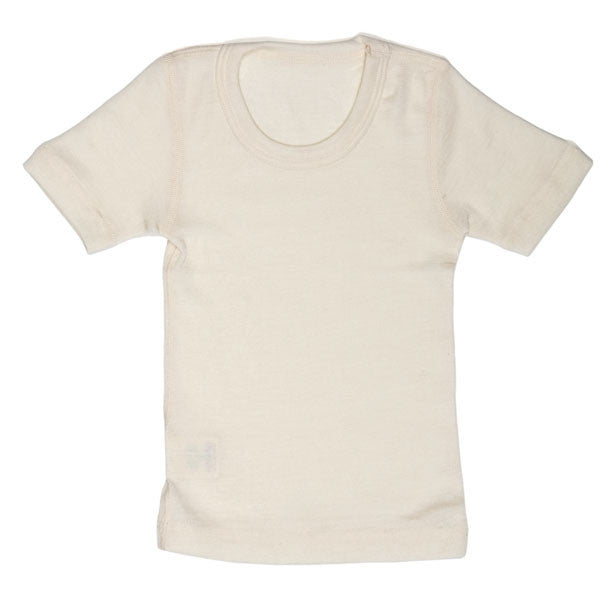 wool & silk short-sleeve shirt - Nova Natural Toys & Crafts - 1