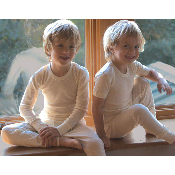 wool & silk long-sleeve shirt - Nova Natural Toys & Crafts - 3
