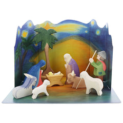 nativity + diorama