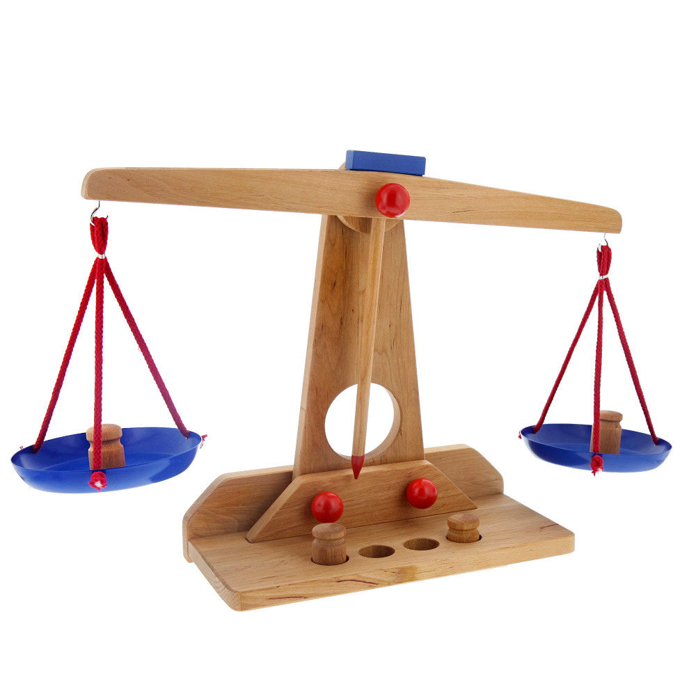 scale with weights- nova natural toys & crafts