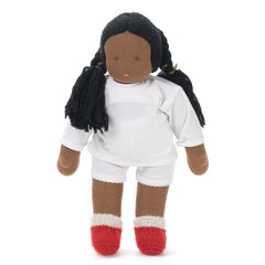 q'ewar girl waldorf doll