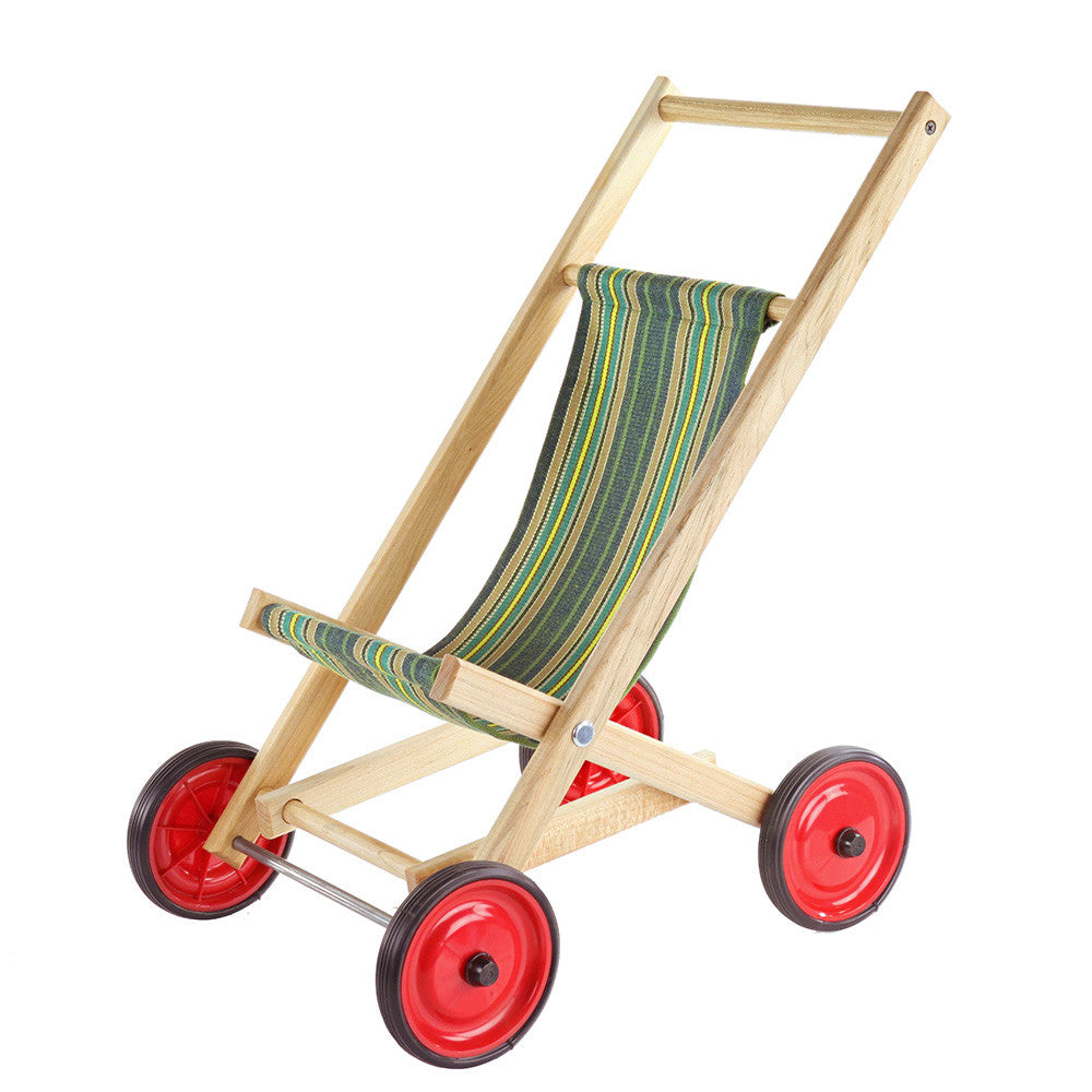 doll stroller green- Nova Natural