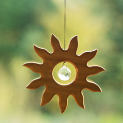 sun crystal suncatcher