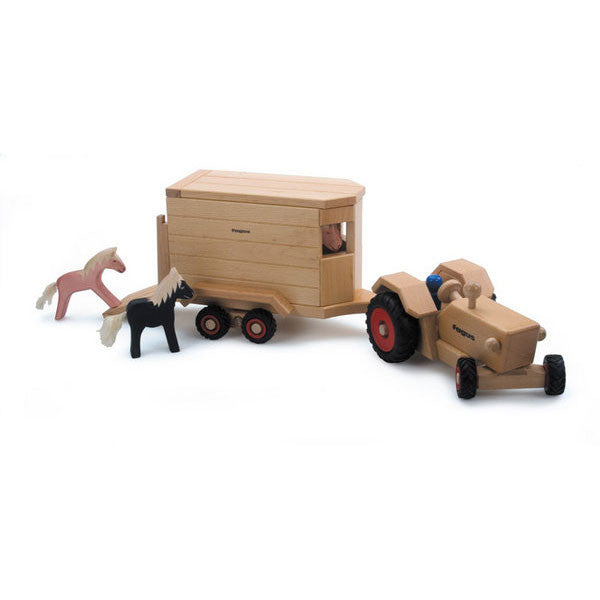 horse trailer - Nova Natural Toys & Crafts - 5