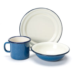 enamel cup, bowl & plate set - nova natural toys & crafts