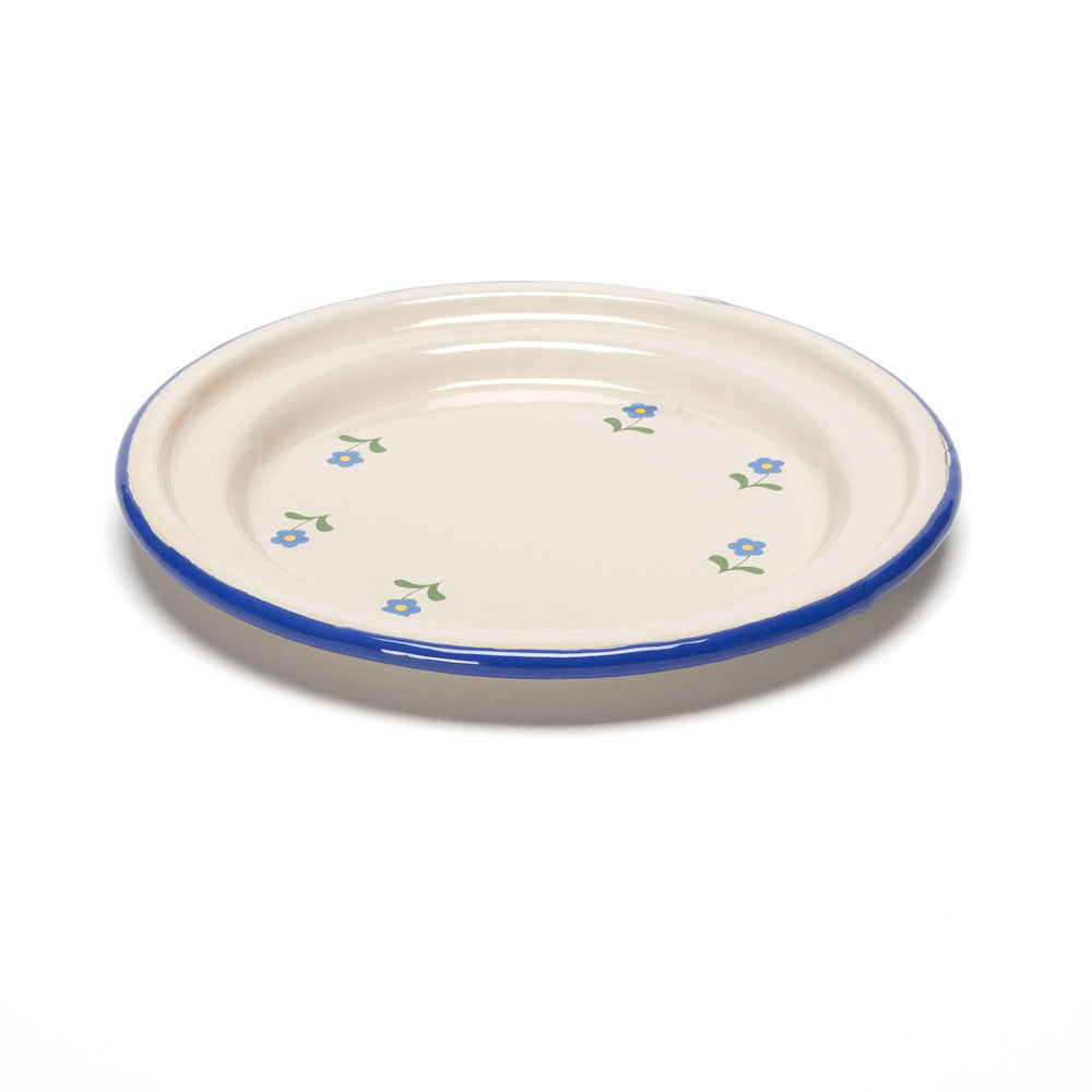 flowered enamel plate - Nova Natural Toys & Crafts - 3