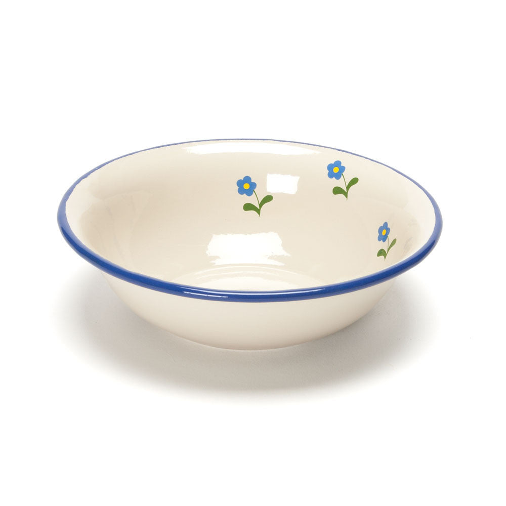 flowered enamel bowl - Nova Natural Toys & Crafts - 2