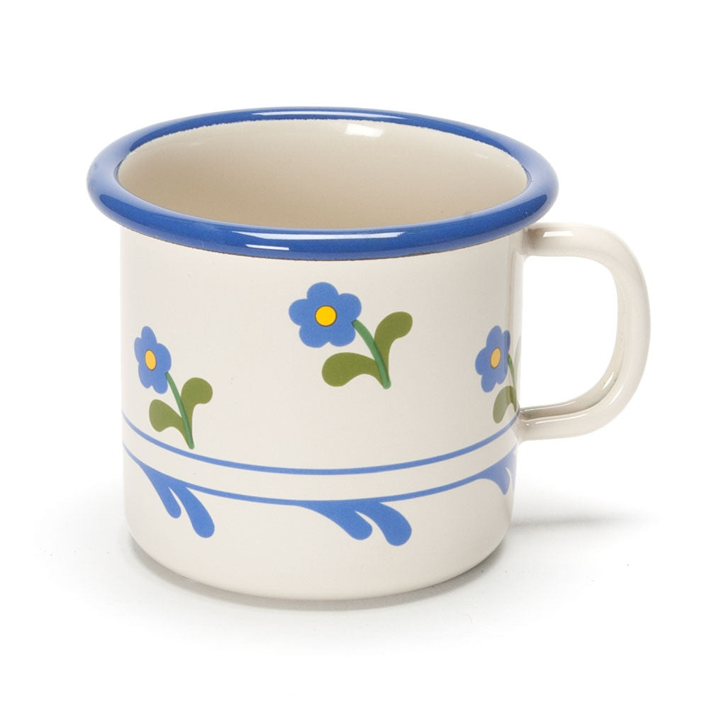 flowered enamel cup - Nova Natural Toys & Crafts - 1