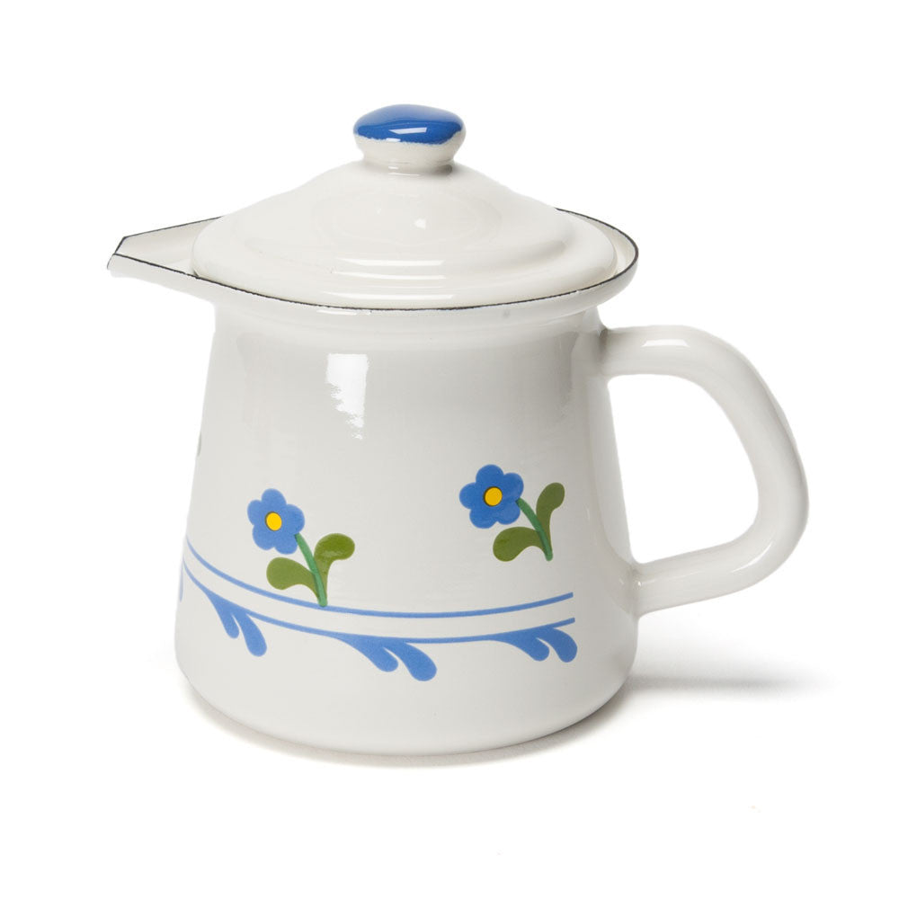 flowered enamel creamer - Nova Natural Toys & Crafts - 1