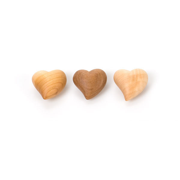 small curved wooden heart - Nova Natural Toys & Crafts
