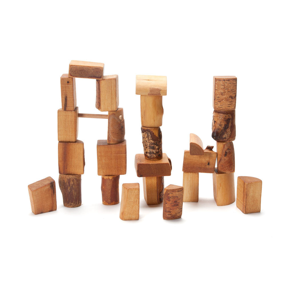 rugged natural blocks - Nova Natural Toys & Crafts