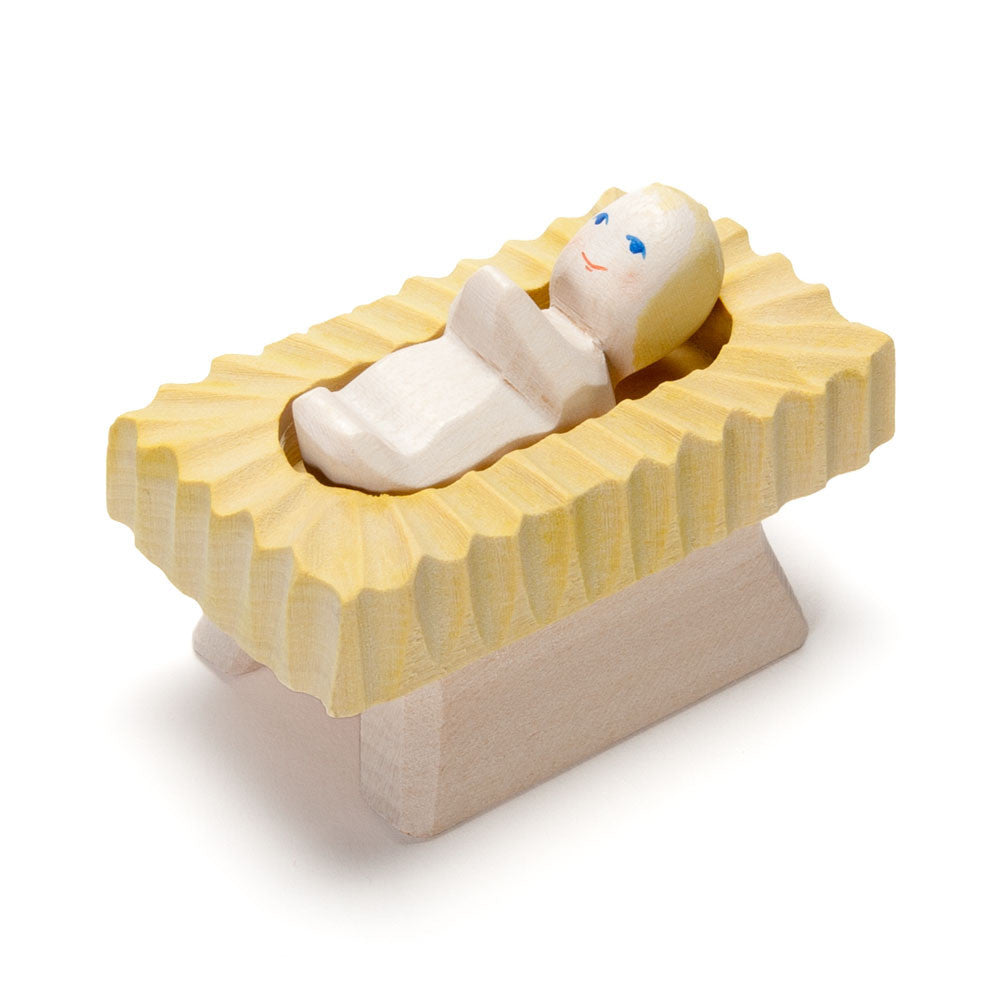baby in manger - Nova Natural Toys & Crafts - 2