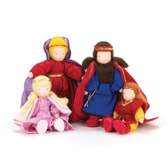 fairy tale soft doll family