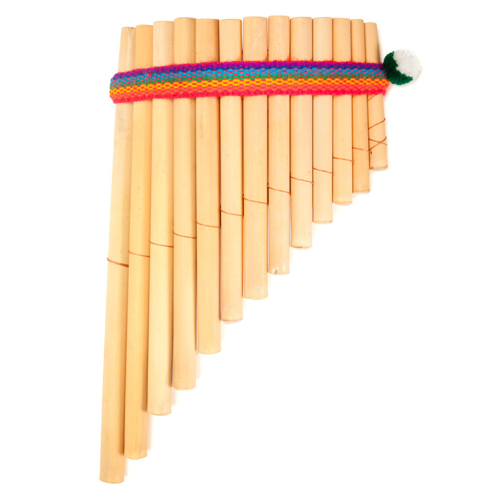 Pan Flute on Musical Instruments Craft Idea For Kids