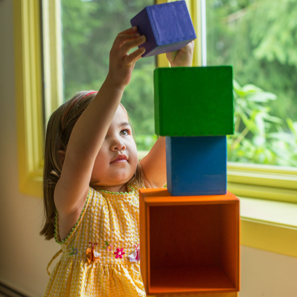 rainbow stacking boxes - Nova Natural Toys & Crafts - 2