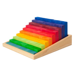 rainbow step blocks