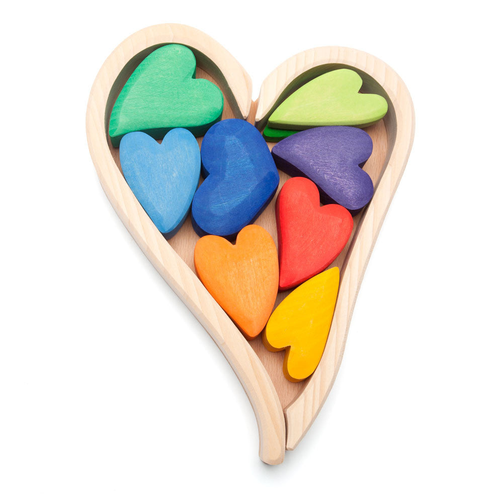 rainbow hearts - Nova Natural Toys & Crafts - 1