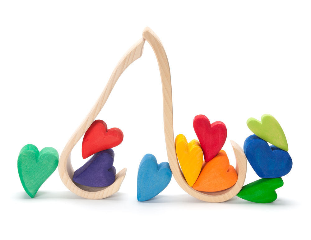 rainbow hearts - Nova Natural Toys & Crafts - 3