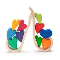 rainbow hearts - Nova Natural Toys & Crafts - 4