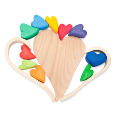 rainbow hearts - Nova Natural Toys & Crafts - 2
