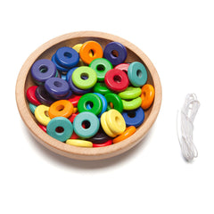 colorful wooden disc beads - Nova Natural Toys & Crafts - 2