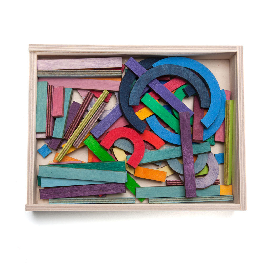 colorful letter building set - Nova Natural Toys & Crafts - 1