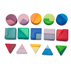 triangles, squares + circles - Nova Natural Toys & Crafts - 1